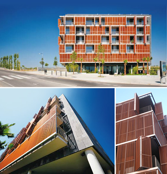 Rdlb proyecto edificio can gambus for Oficinas sabadell madrid